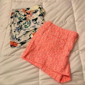 GAP- Two Beautiful Patterned Shorts